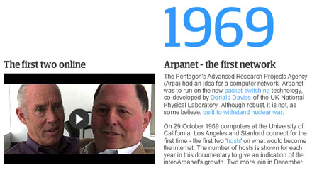 Guardian - A people's history of the internet